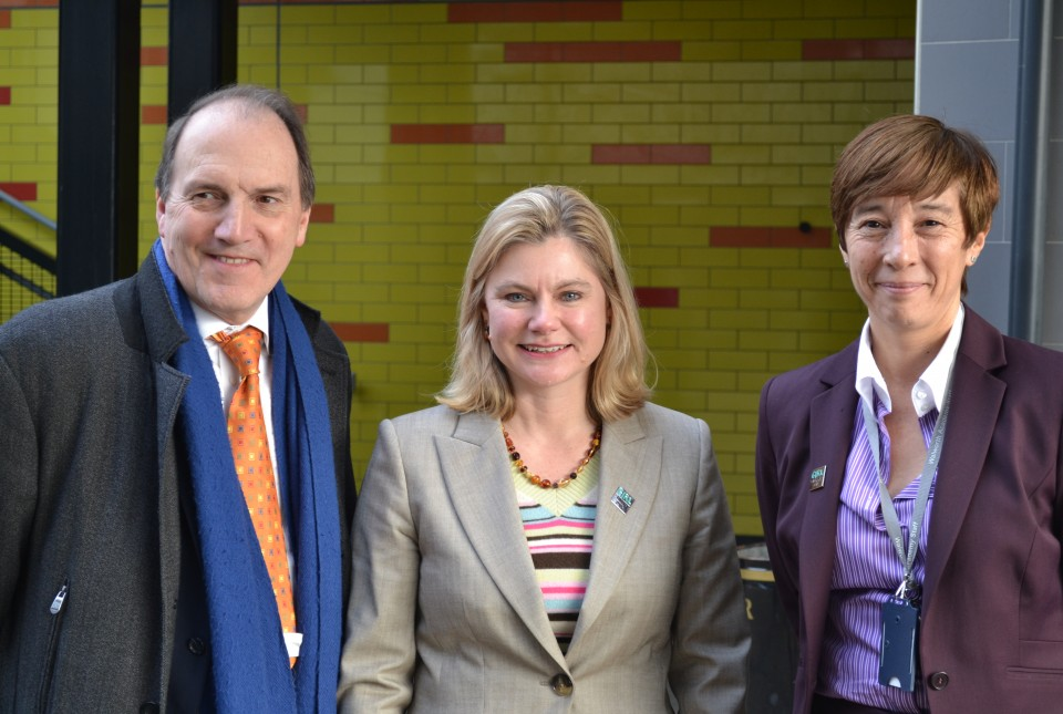 Justine Greening visits Walworth Academy