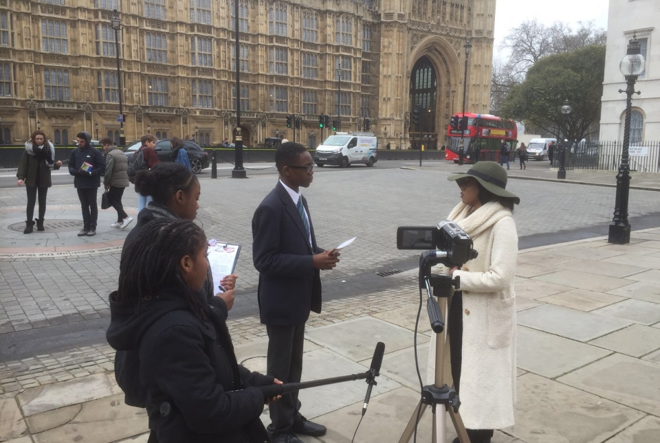 Walworth Academy BBC Reports News Day